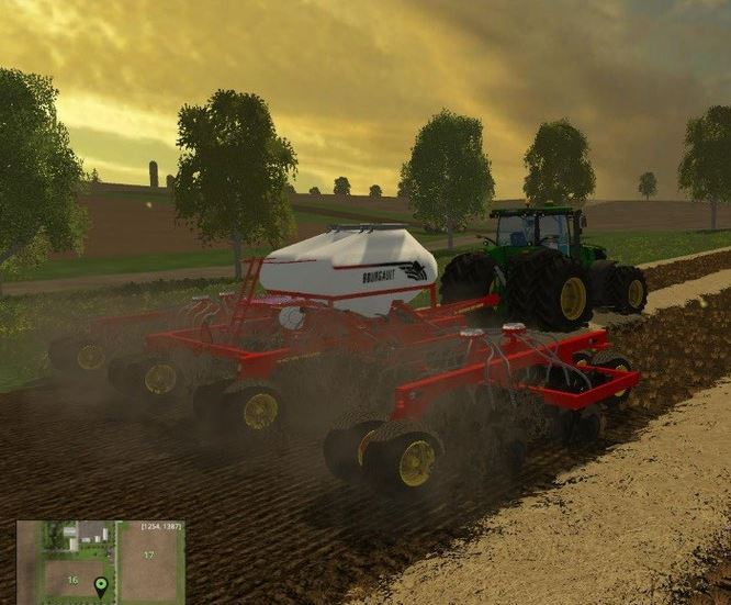 Bourgault 14M seeder FS 2015
