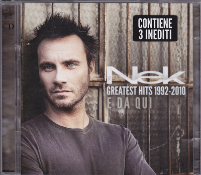 Nek - Greatest Hits 1992-2010: E Da Qui [2CD] (2010) .mp3 - 320kbps