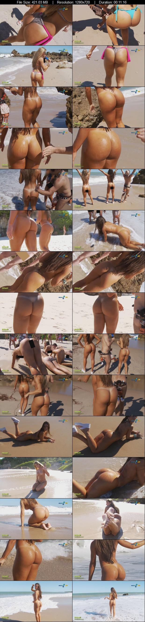 Brazilian reporters in a nudist beach (HD video) - Nicole Bahls and Juliana Salimeni. Foto 174 (Бразильские журналисты в нудистский пляж (HD Video) - Николь Bahls и Юлиана Salimeni. Фото 174)