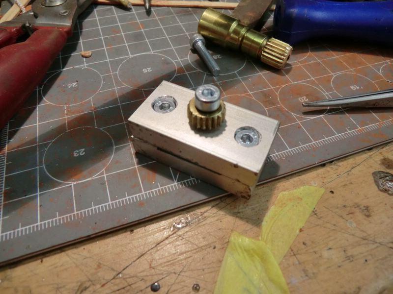 Bau einer Streichmaßlehre Broncocimg7607zhs61