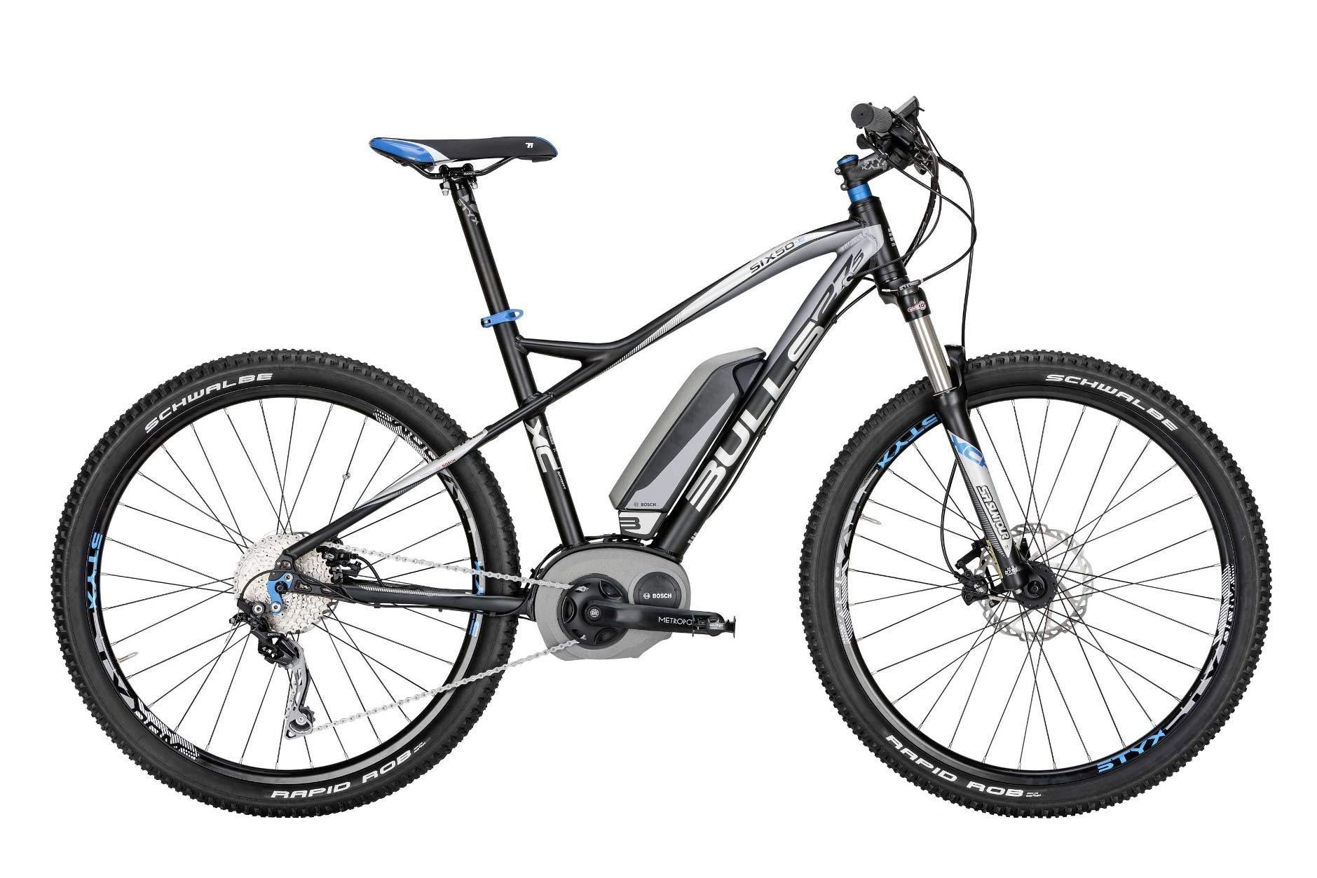 elektro fahrrad bulls six50 e1 e bike bosch 36v shimano. Black Bedroom Furniture Sets. Home Design Ideas