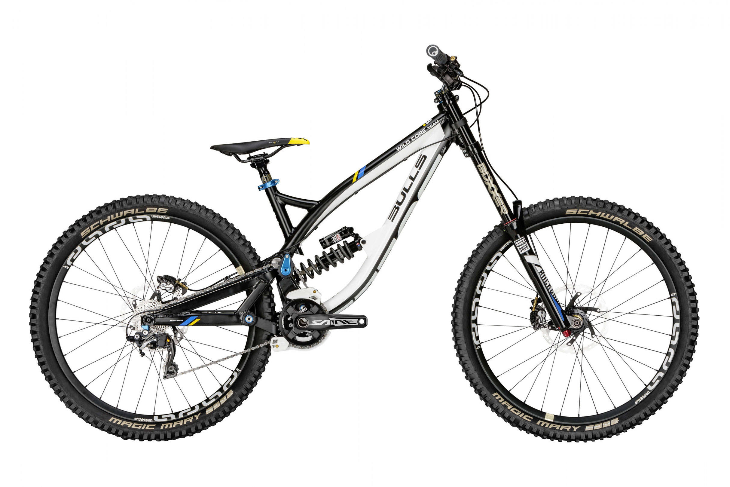 mountain bike bulls wild core team shimano xtr downhill gr. Black Bedroom Furniture Sets. Home Design Ideas