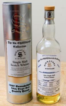 Bunnahabhain Signatory Vintage 1997 Flasche