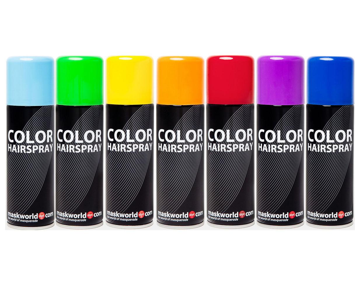 farbiges haarspray