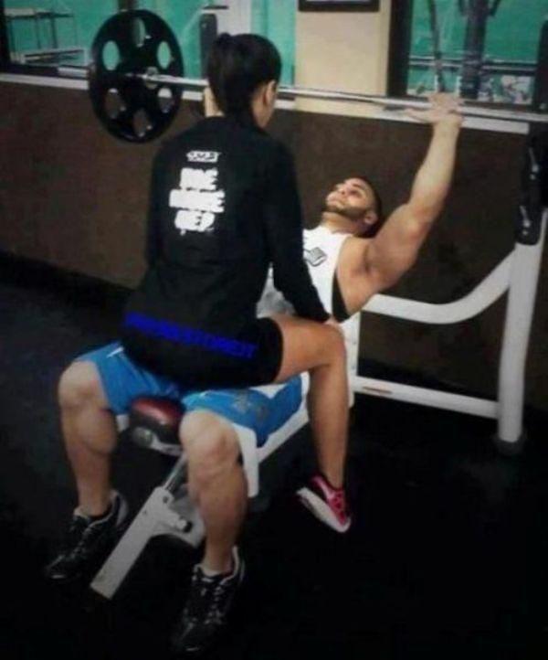 Na siłowni #2 6
