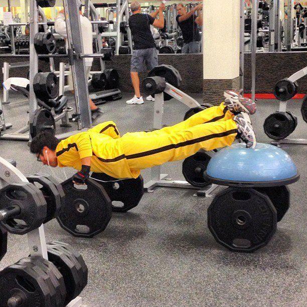 Na siłowni 18