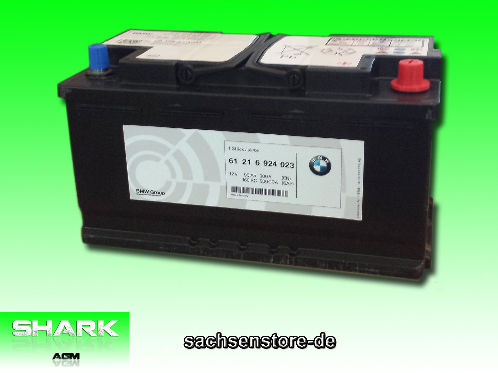 intact agm 900 start stop autobatterie 12v 90 ah 900 a. Black Bedroom Furniture Sets. Home Design Ideas