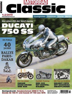 Motorrad Classic Magazin Januar-Februar No 01,02 2019