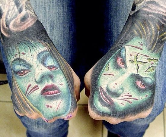 Odważne tatuaże #4 36