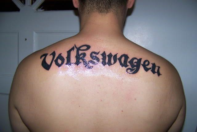 Tatuaże fanów Volkswagena 13