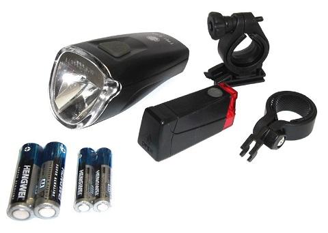 b chel fahrradbeleuchtung set trilux led 40 lux mit stvzo scheinwerfer ebay. Black Bedroom Furniture Sets. Home Design Ideas