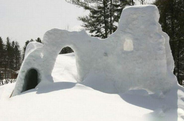 Śniegowe budowle 36