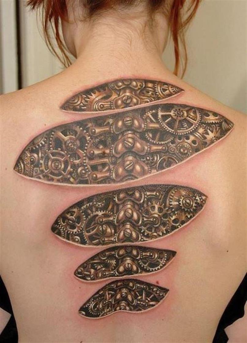 Realistyczne tatuaże #5 7