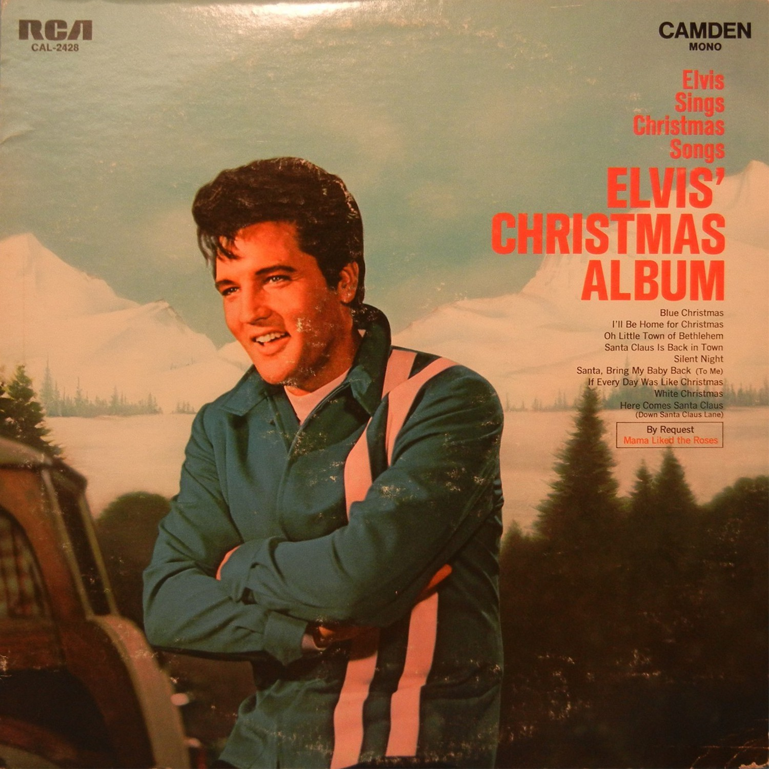 ELVIS' CHRISTMAS ALBUM Cal-2428ailk8j