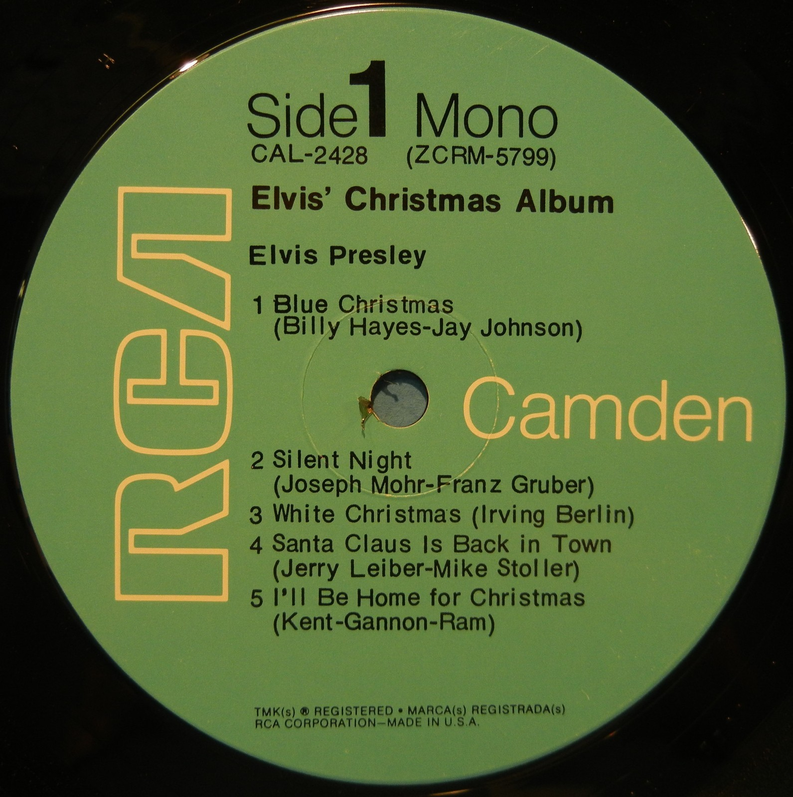 ELVIS' CHRISTMAS ALBUM Cal-2428c04j3i