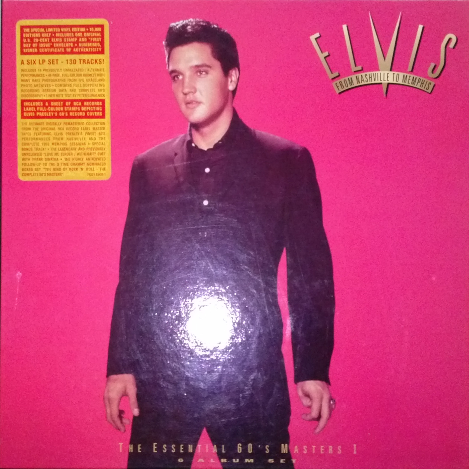 ELVIS - FROM NASHVILLE TO MEMPHIS - THE ESSENTIAL 60'S MASTERS Cam00098h3slf