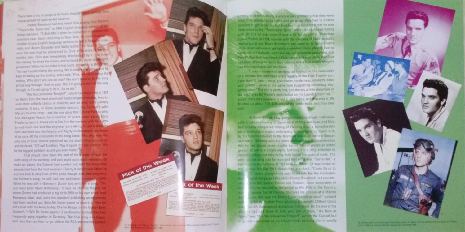 ELVIS - FROM NASHVILLE TO MEMPHIS - THE ESSENTIAL 60'S MASTERS Cam001189syrz