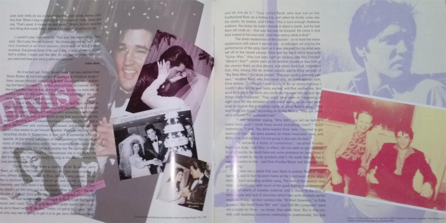 ELVIS - FROM NASHVILLE TO MEMPHIS - THE ESSENTIAL 60'S MASTERS Cam00122w3acb