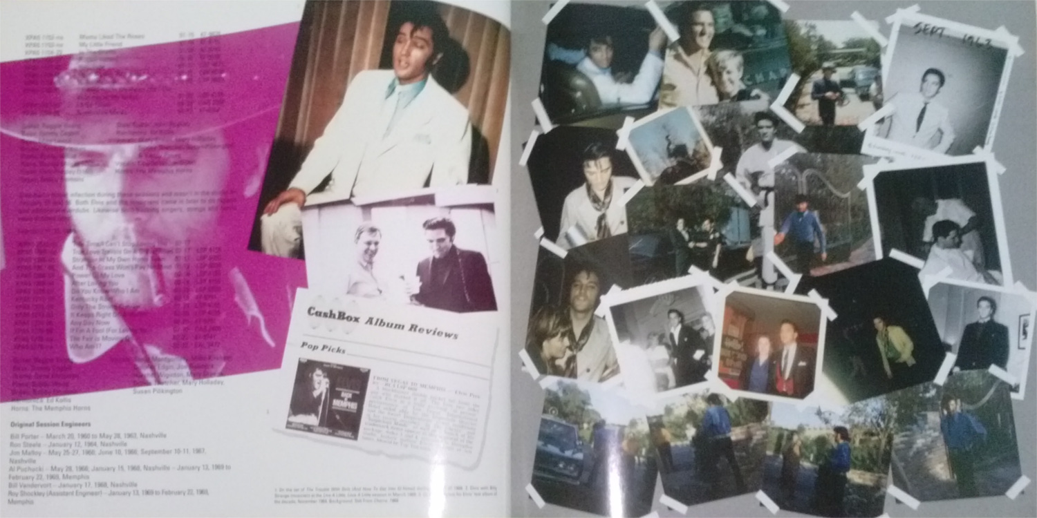 ELVIS - FROM NASHVILLE TO MEMPHIS - THE ESSENTIAL 60'S MASTERS Cam001311pyti