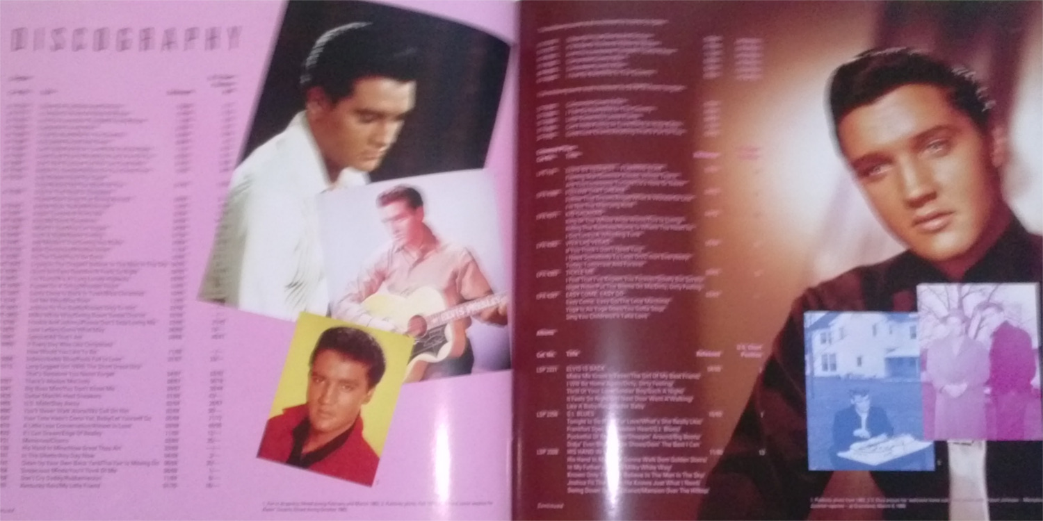 ELVIS - FROM NASHVILLE TO MEMPHIS - THE ESSENTIAL 60'S MASTERS Cam001329pa81