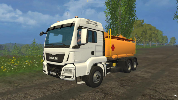 Camion diesel Tank V1