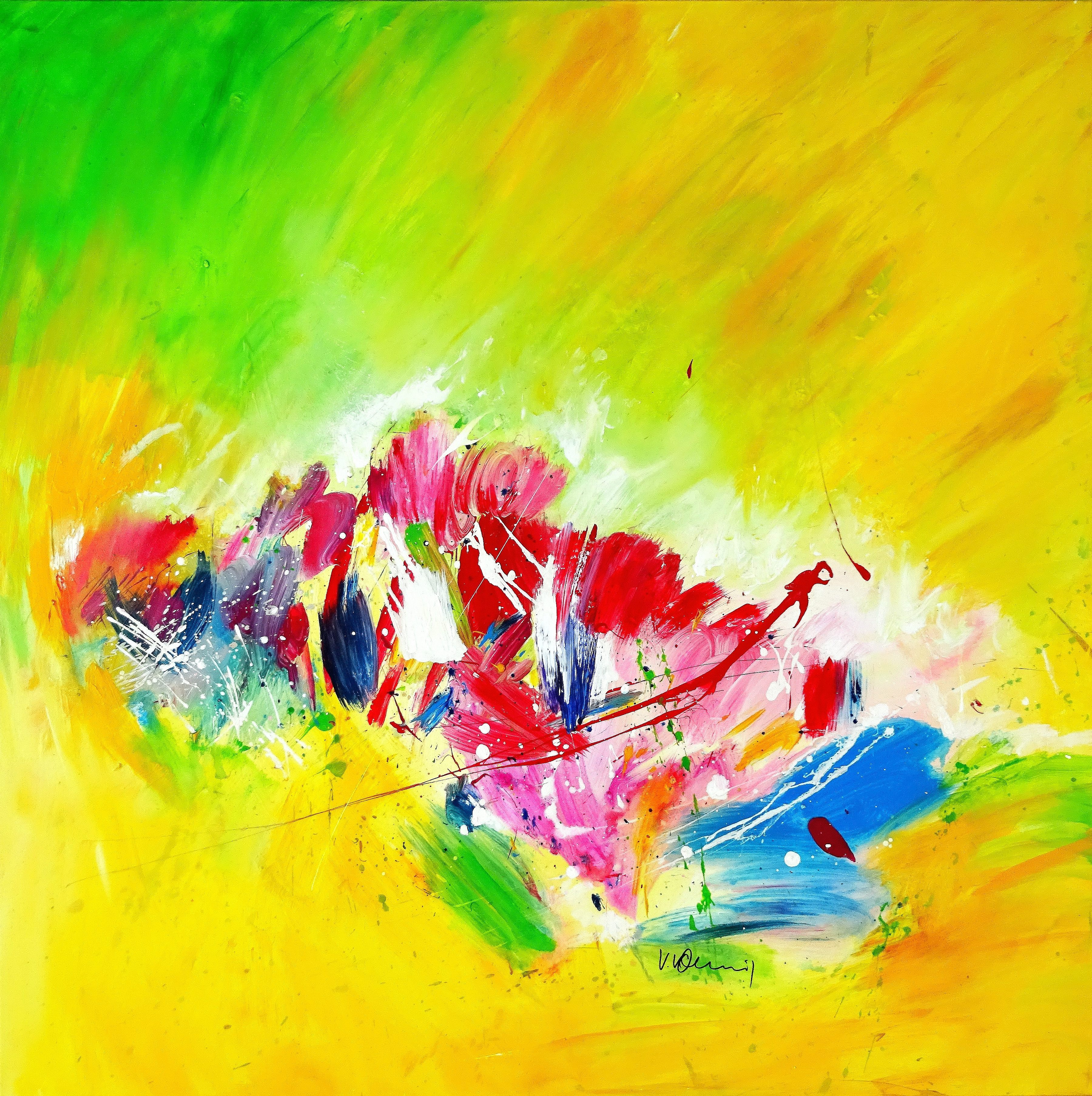 "Click to see on Saatchi ""Candyland II"""