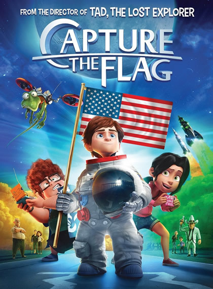 Ay Macerası - Capture the Flag 2015 (Türkçe Dublaj) BRRip XviD
