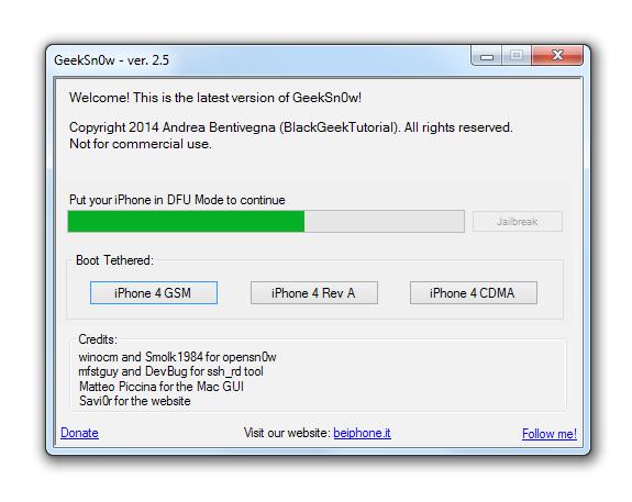 jailbreak ios 7.1, geeksn0w,iphone 4