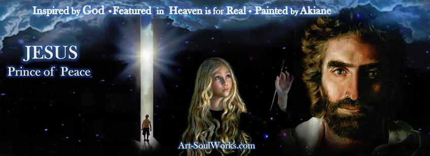 Jesus nach dem Wunderkind Akiane Kramarik im Alter von 8 Jahren gemalt!