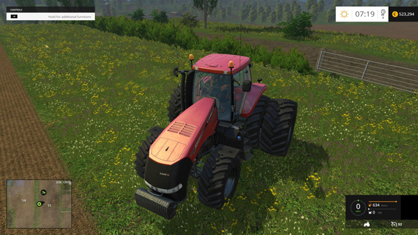 Case IH Magnum 380 Dynamic Rear Twin Wheels V1.1 Errors Fixed