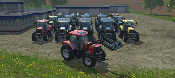 Case IH Puma 230 CVX v3.0 Wheels Pack