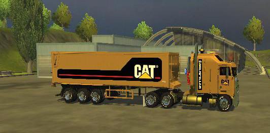 CAT SEMITRAILER C SGW MULTI V1.0