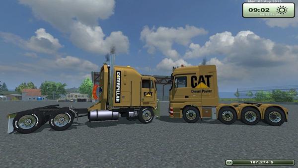 Cat Trucks v Update