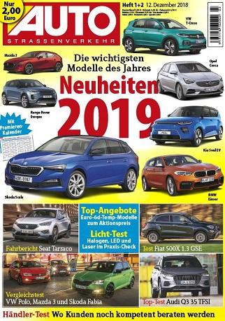 Auto Strassenverkehr Magazin Dezember No 01,02 2018,2019