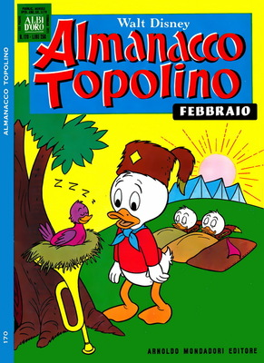 Almanacco Topolino N. 170 (1971)
