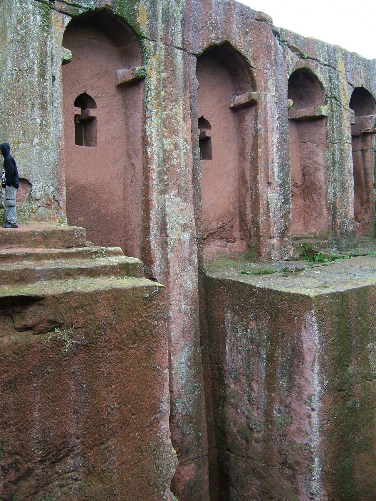 Kościoły skalne w Lalibeli 31