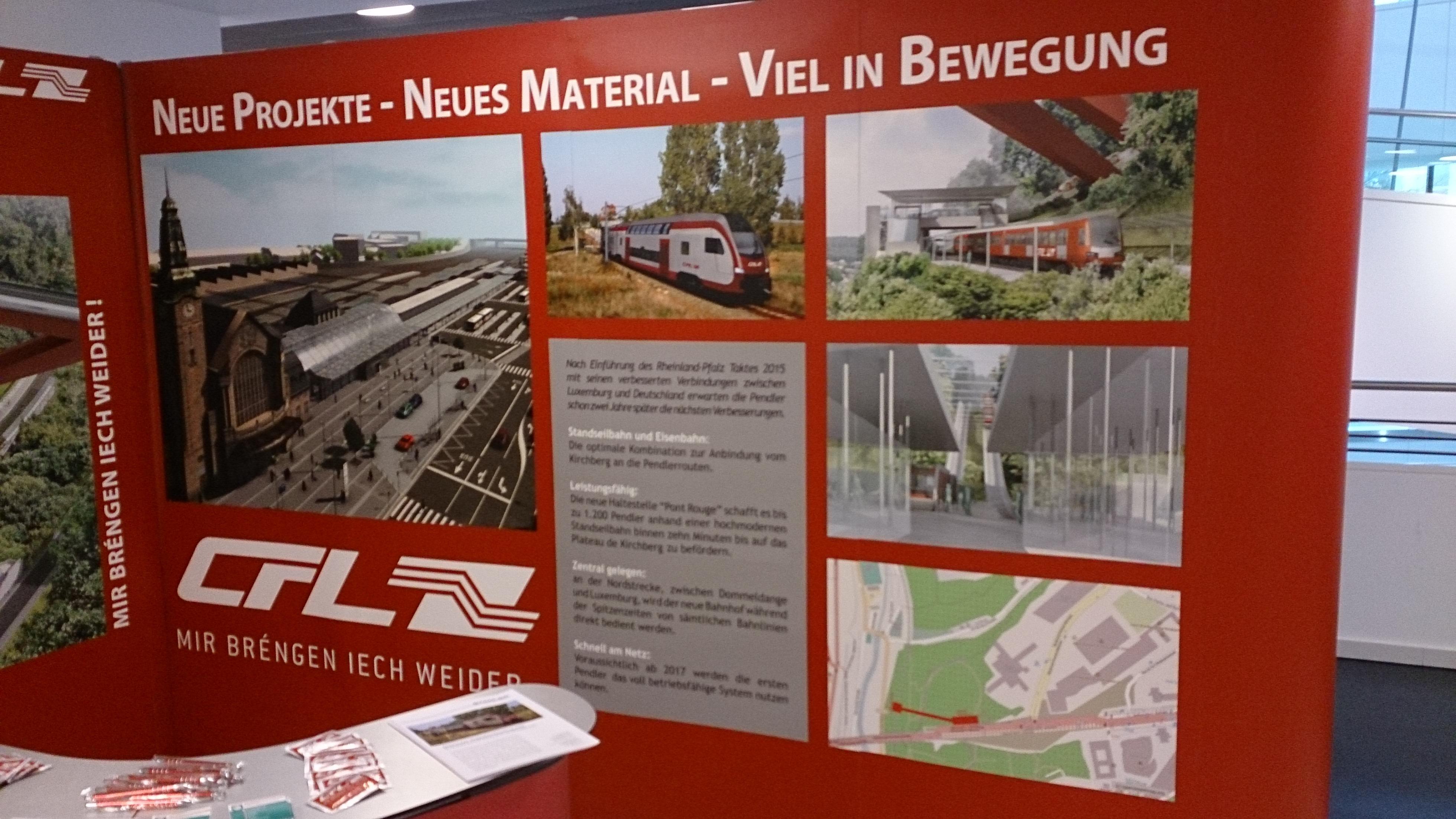 geplante Standseilbahn in Luxemburg