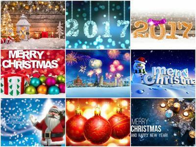 100  Beautiful Christmas 2017 HD Wallpapers Mix