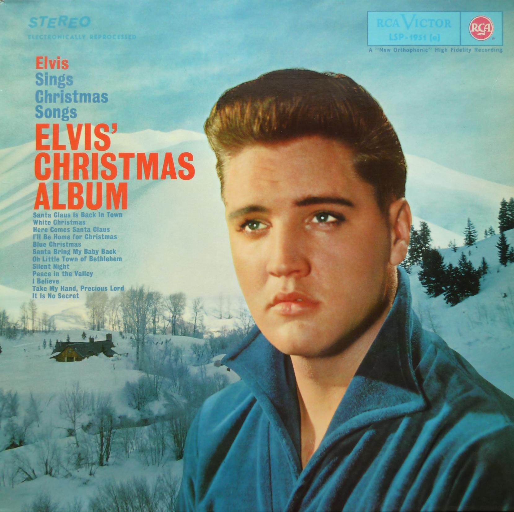 ELVIS' CHRISTMAS ALBUM (1964) Christmasalbum1968frot3urg
