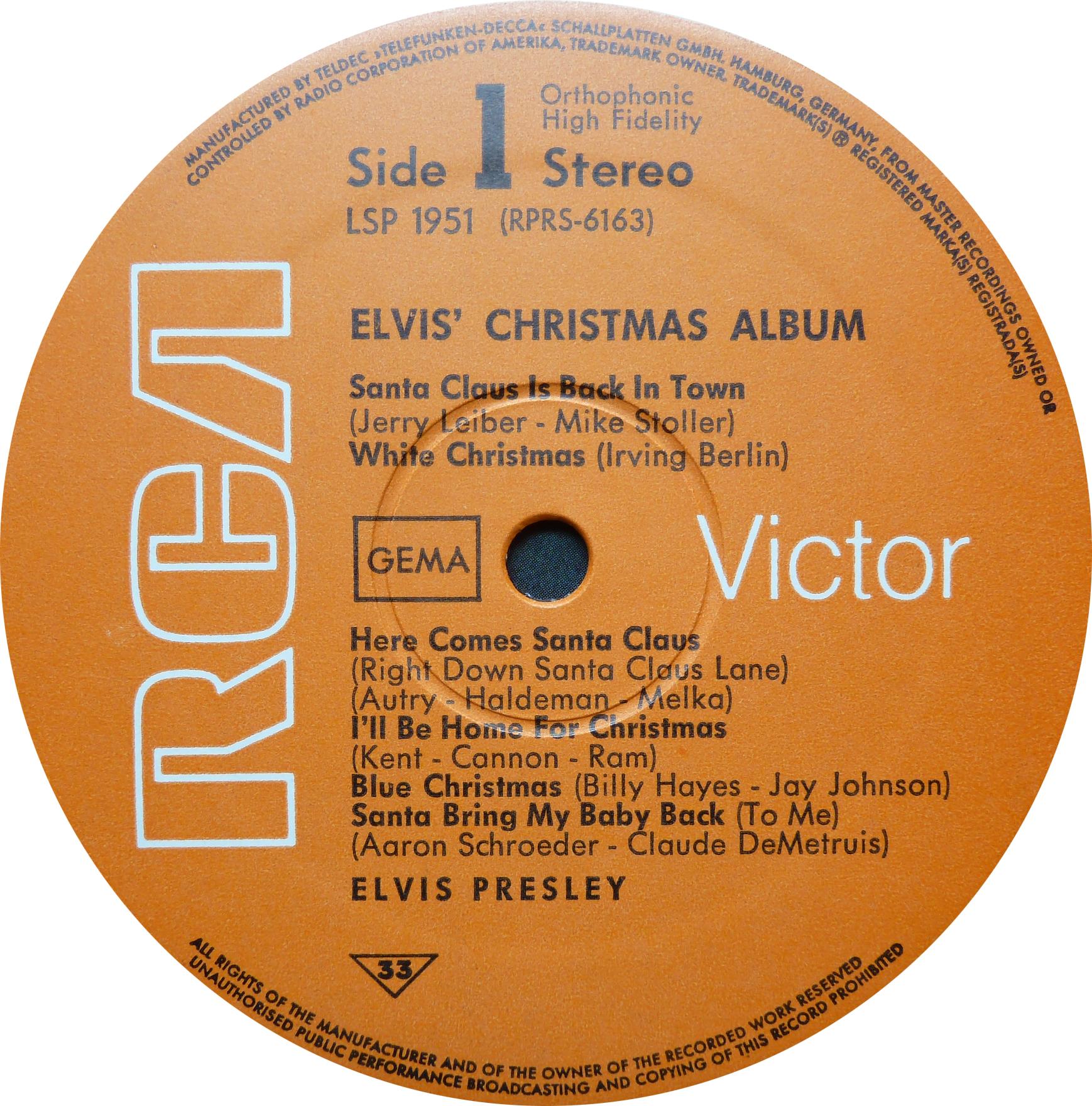 ELVIS' CHRISTMAS ALBUM (1964) Christmasalbum1968sid0wuoc