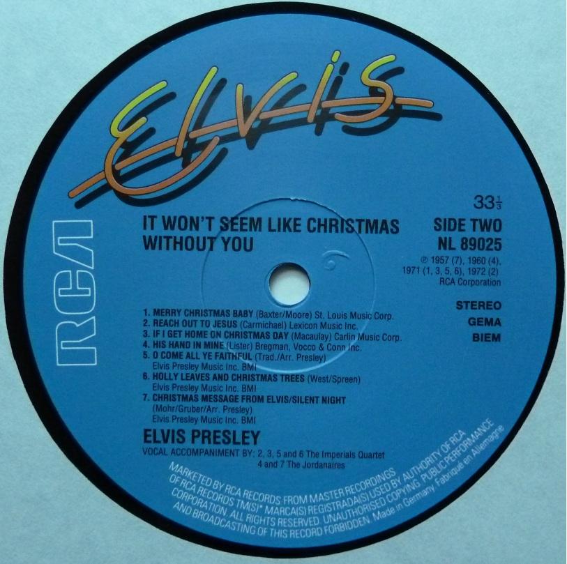 IT WON´T SEEM LIKE CHRISTMAS WITHOUT YOU Christmaswithoutyoulauvsez
