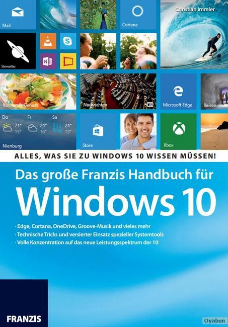 Das große Franzis Handbuch für Windows v10