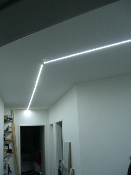 led panel f r flurbeleuchtung mit endlighten t www. Black Bedroom Furniture Sets. Home Design Ideas