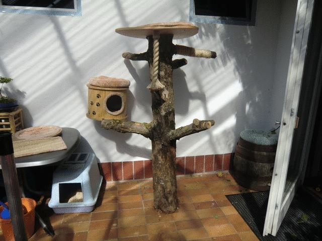 kratzbaum selbst gebaut seite 10 katzen forum. Black Bedroom Furniture Sets. Home Design Ideas