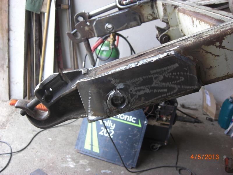 Frontlader Umbau : Frontladerumbau auf hydraulische gerätebetätigung mit mechanischer