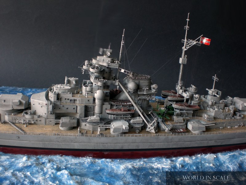 Entfernungsmesser Schlachtschiff : Schlachtschiff bismarck v revell community