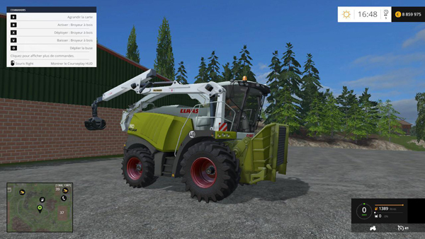 Claas 980 forest V1