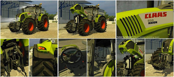 Claas Axion 850 CEBIS 2.0