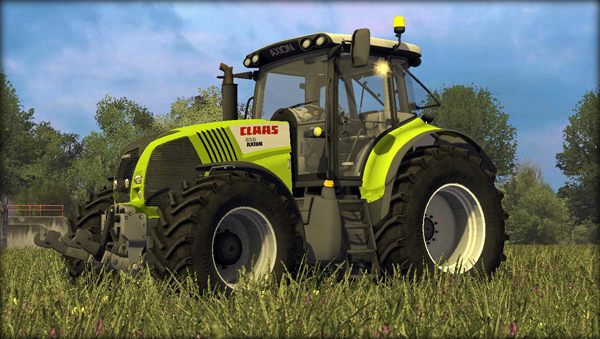 Claas Axion 850 v4.0