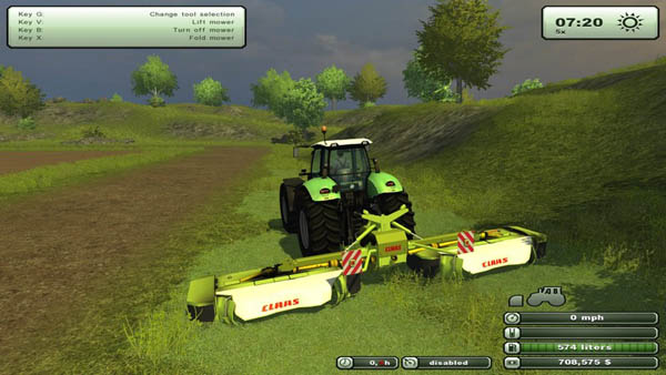 Farming Simulator 2013 Mods Claas-disco-v-1.0x1sxk